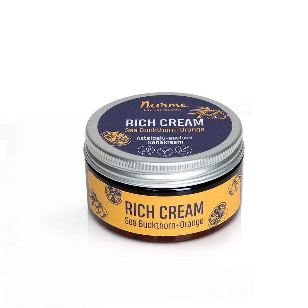 Rich Cream Sea Buckthorn-Orange