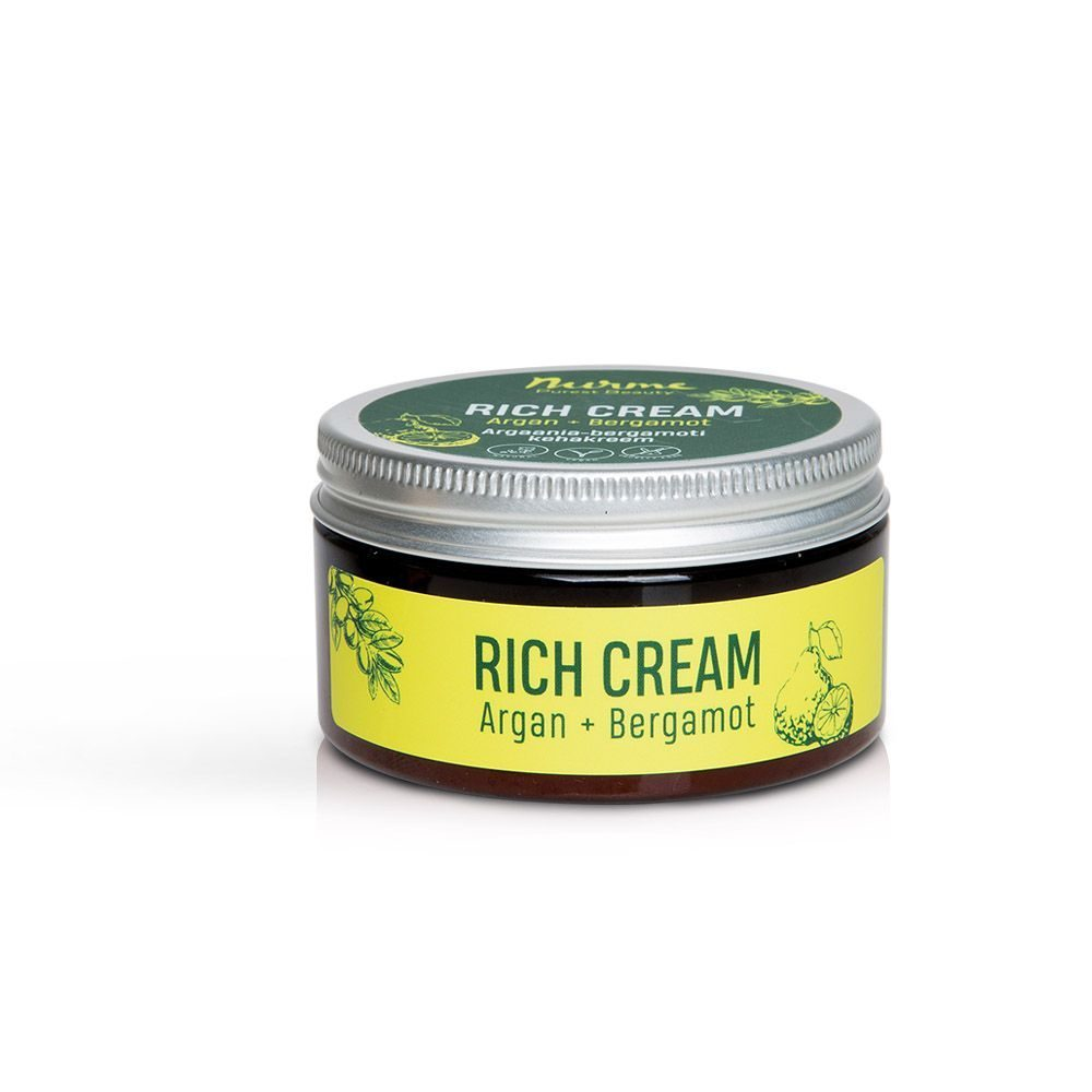 Rich Cream Argan+Bergamot