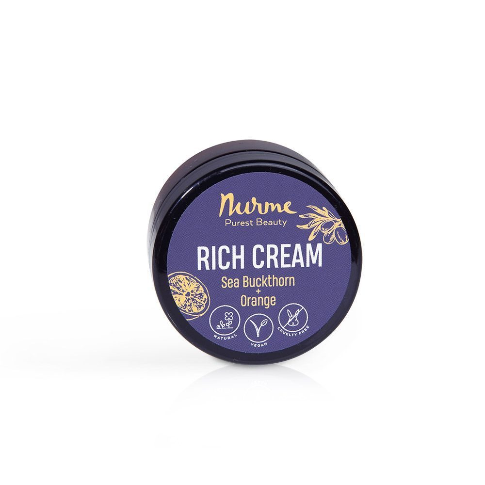 Rich Cream Sea Buckthorn - Orange