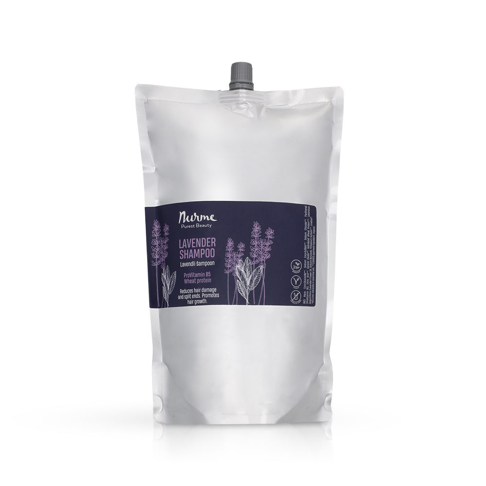 Lavender shampoo refill