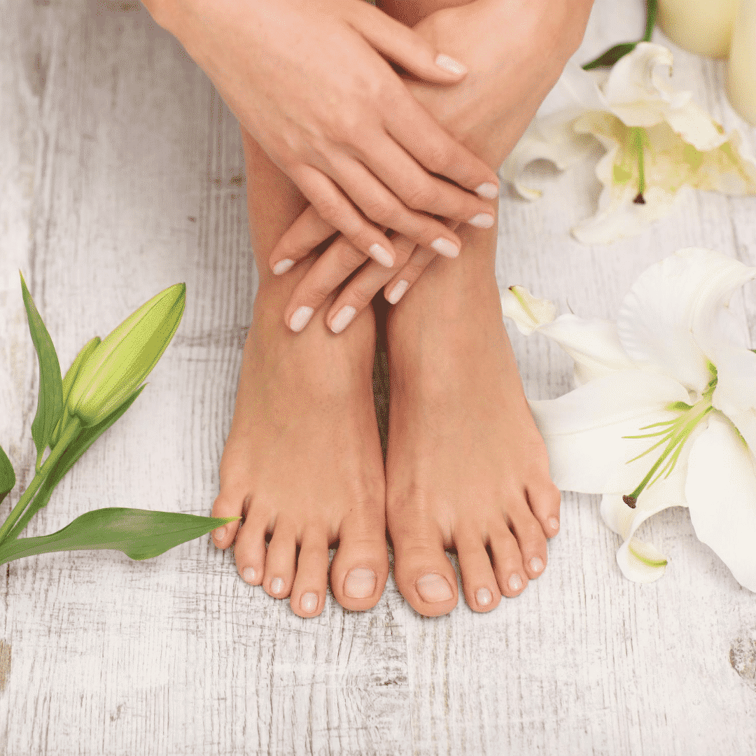 For hands/feet