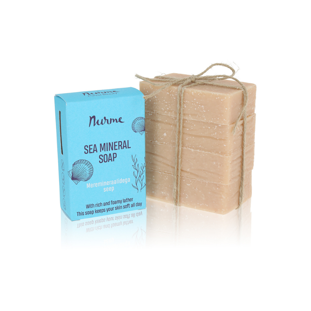 PACKAGING FREE Sea Mineral Soap 400g (4x 100g)
