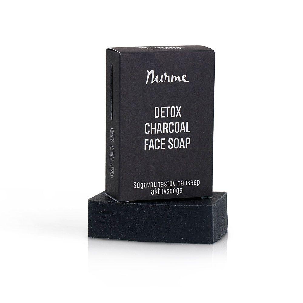 Nurme detox charcoal face soap