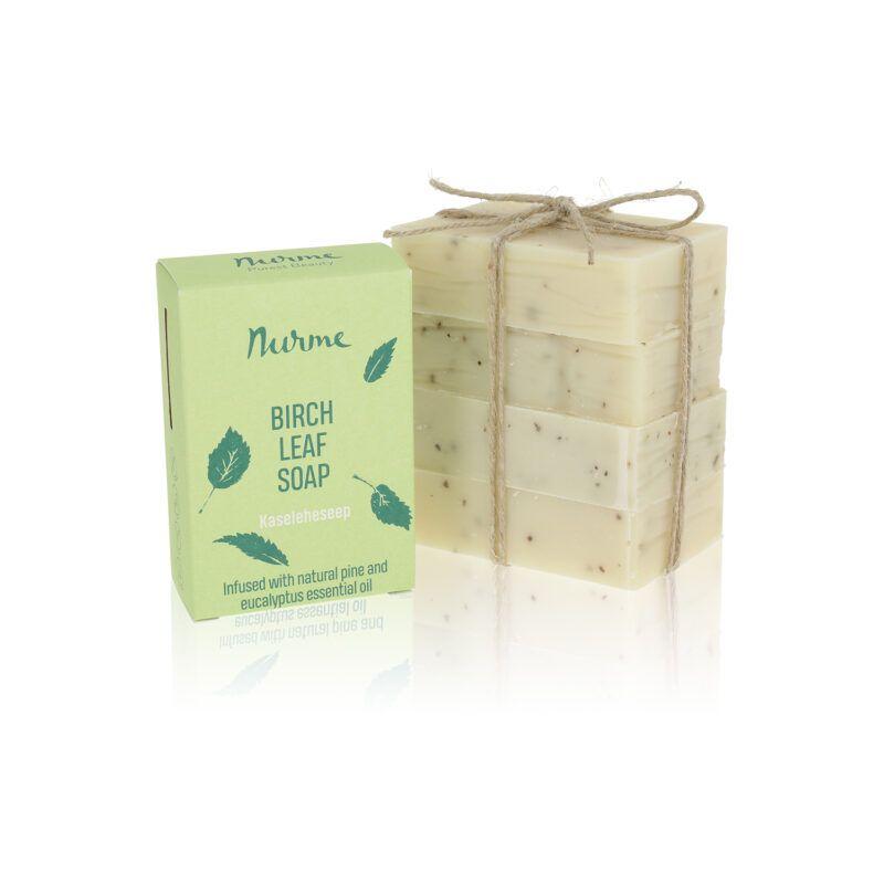 Birch leaf soap