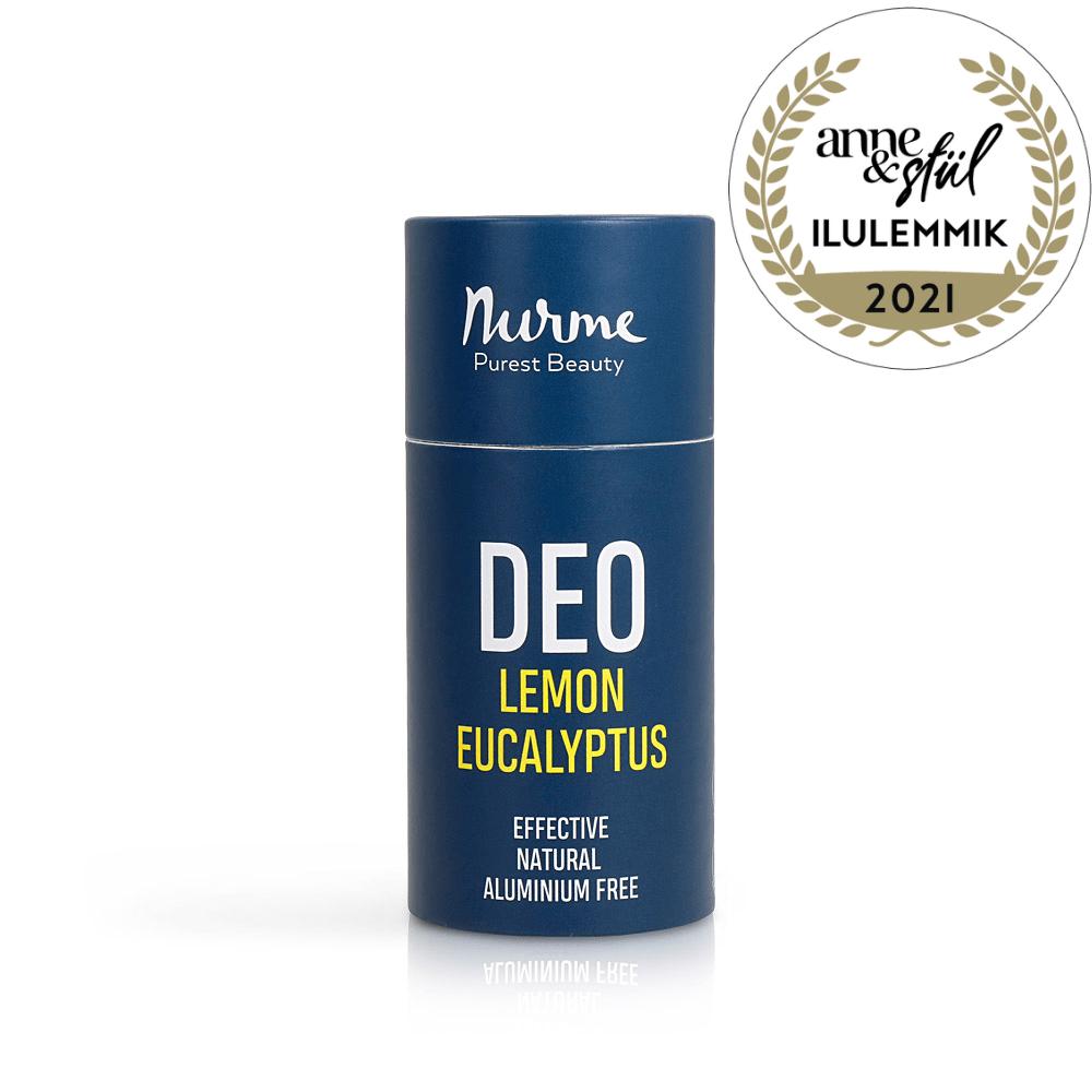 Nurme deodorant lemon eucalyptus