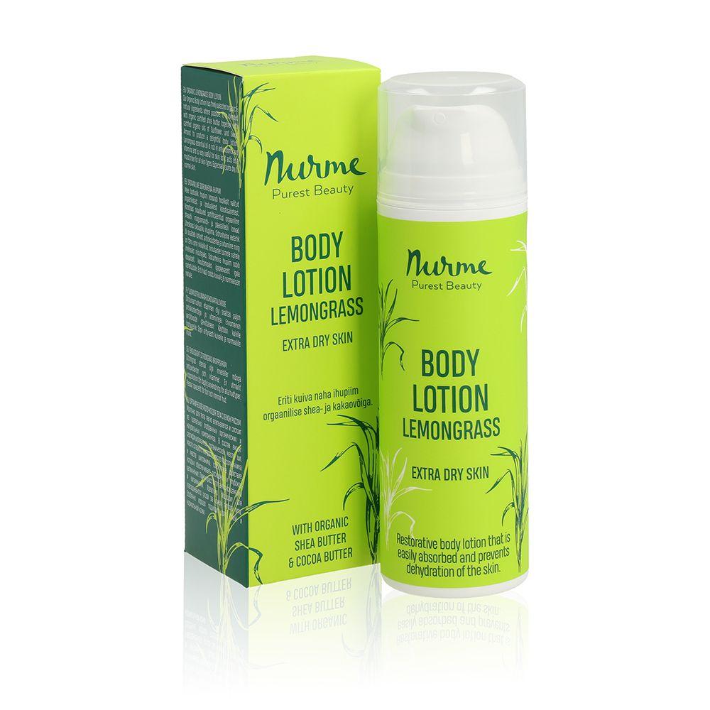 Nurme body lotion lemongrass